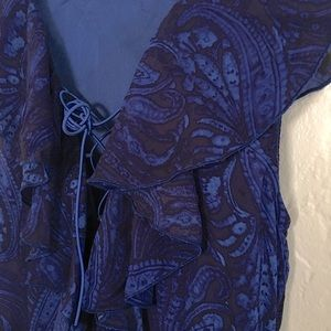 BNWT Blue Ruffle Hi-Lo Party Dress 🎉